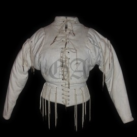 Arming doublet. Ecru