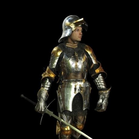 Harnois Italo-germanique garni d'or